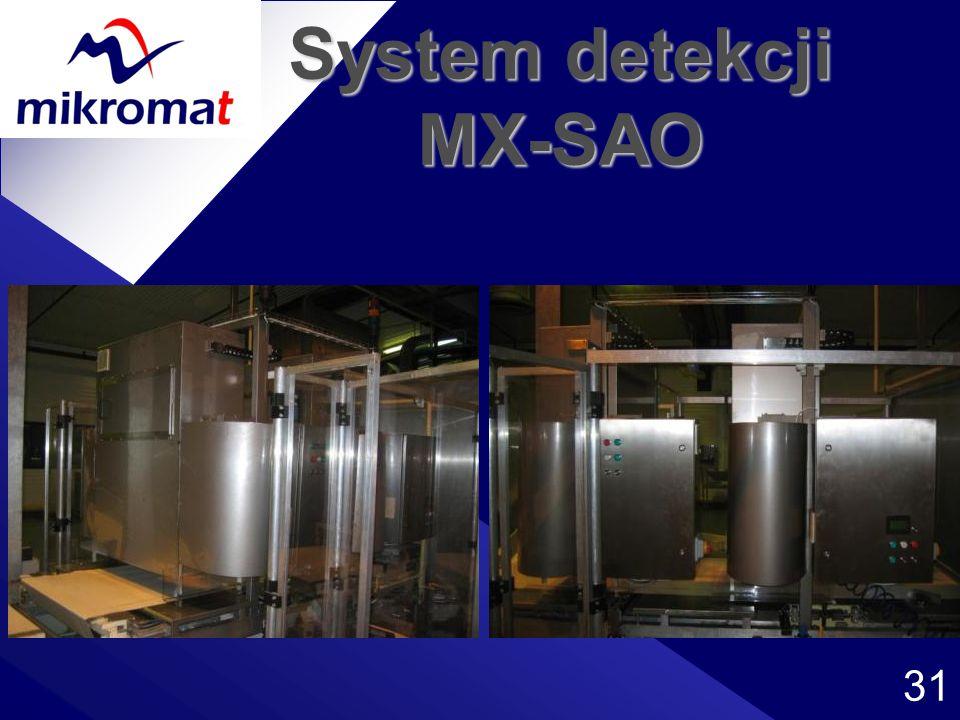 System detekcji MX-SAO