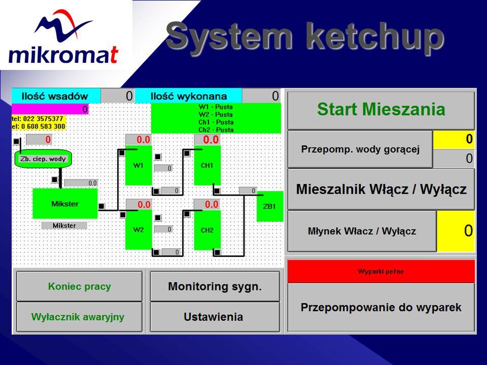 System ketchup