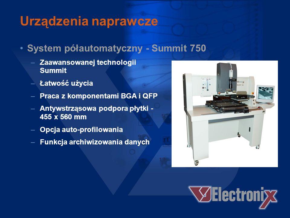 Urządzenia naprawcze System półautomatyczny - Summit 750