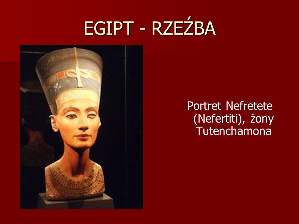 Portret Nefretete (Nefertiti), żony Tutenchamona