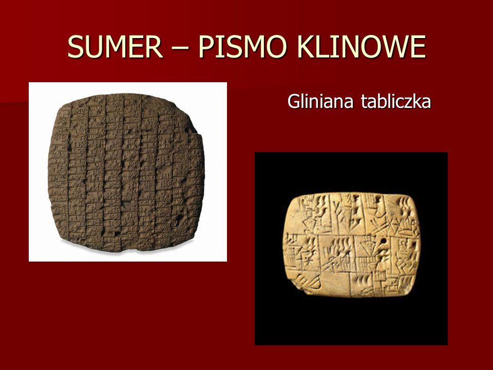 SUMER – PISMO KLINOWE Gliniana tabliczka