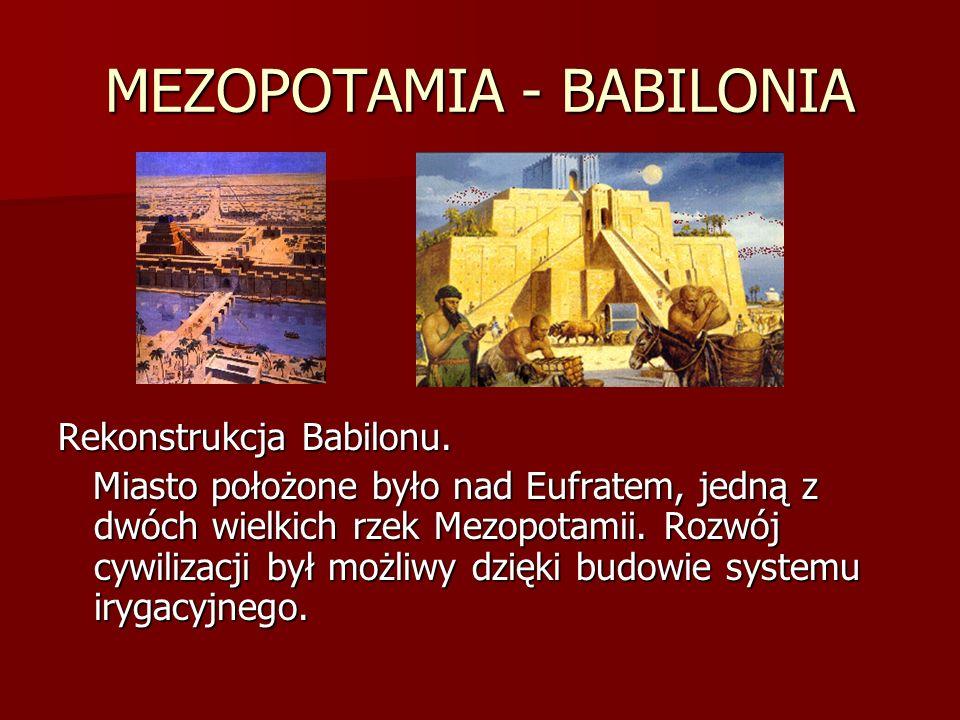 MEZOPOTAMIA - BABILONIA