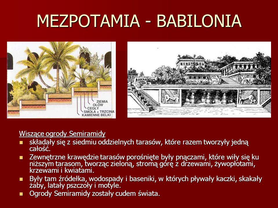 MEZPOTAMIA - BABILONIA