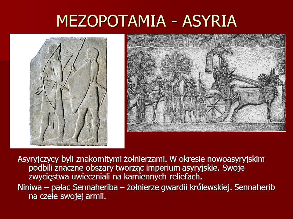 MEZOPOTAMIA - ASYRIA
