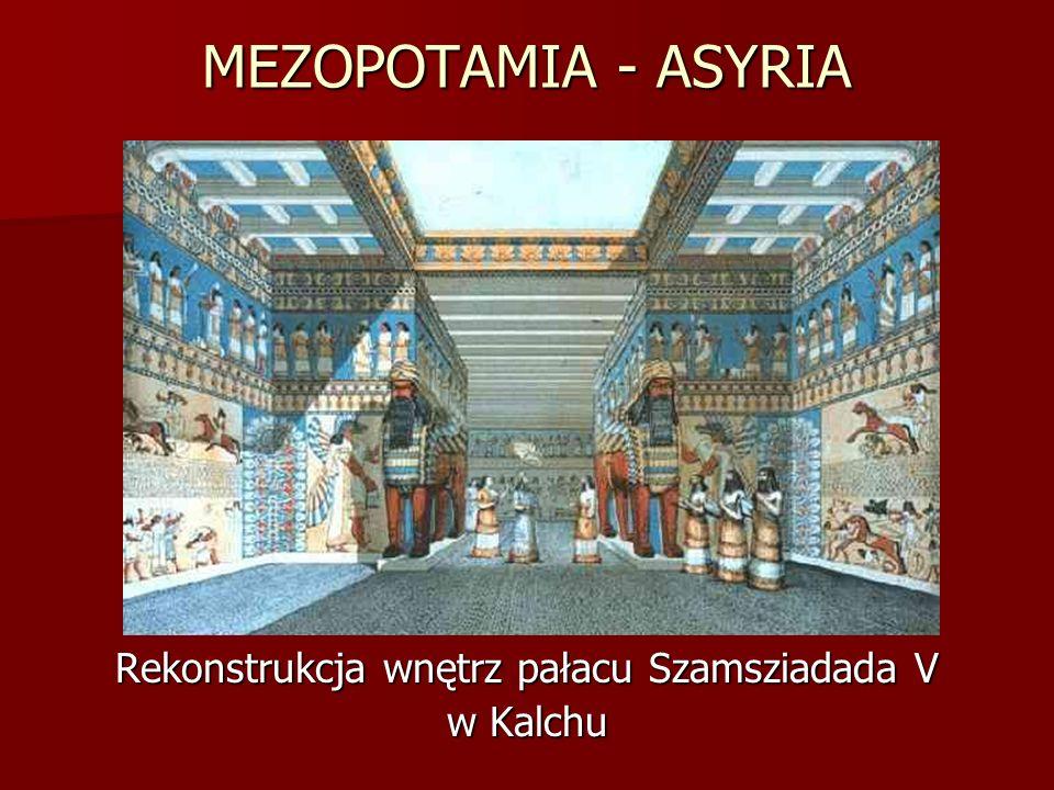 Rekonstrukcja wnętrz pałacu Szamsziadada V