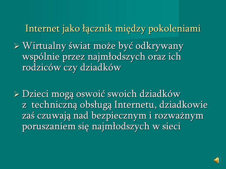 Internet jako łącznik między pokoleniami