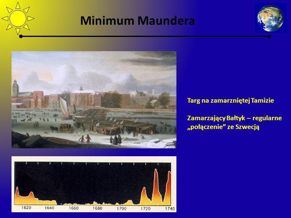 Minimum Maundera Targ na zamarzniętej Tamizie