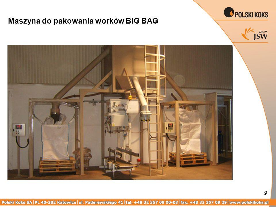 Maszyna do pakowania worków BIG BAG