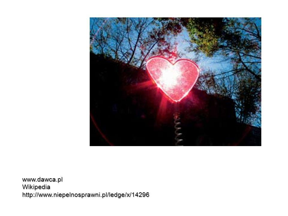 www.dawca.pl Wikipedia http://www.niepelnosprawni.pl/ledge/x/14296