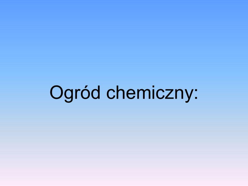 Ogród chemiczny:
