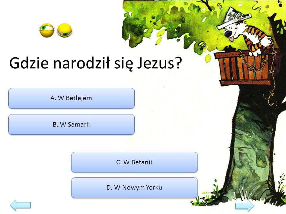 Gdzie narodził się Jezus