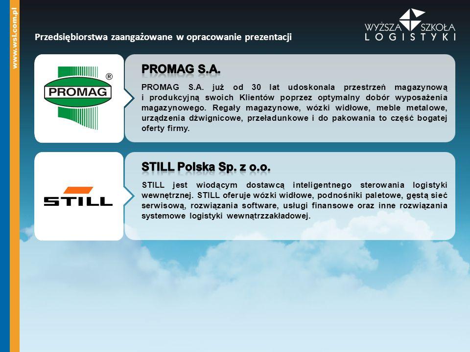 Promag s.a. STILL Polska Sp. z o.o.