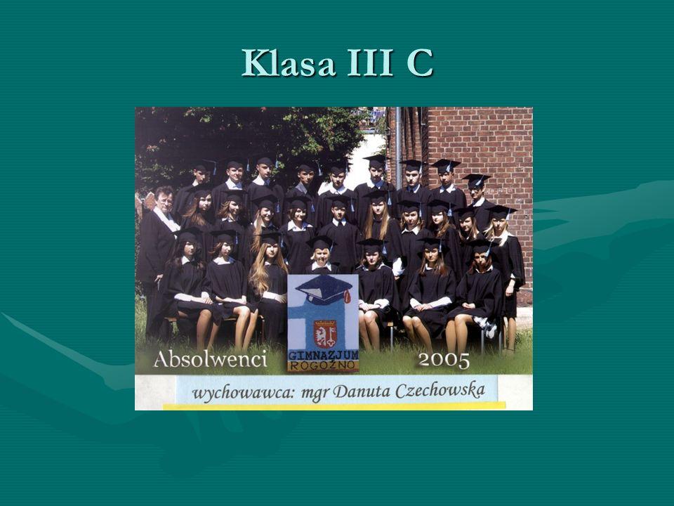 Klasa III C