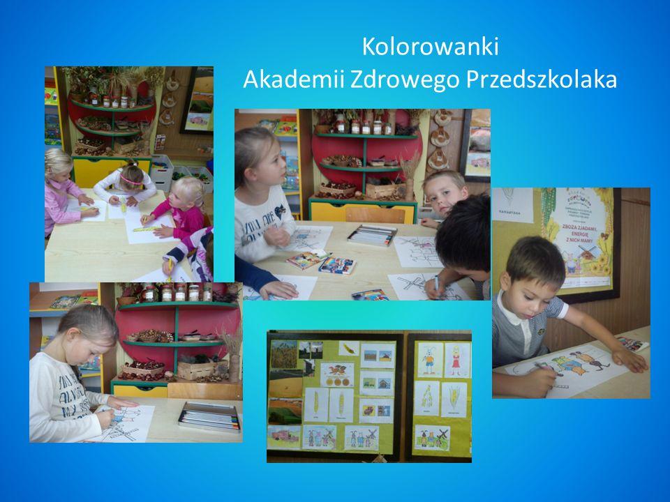 Kolorowanki Akademii Zdrowego Przedszkolaka