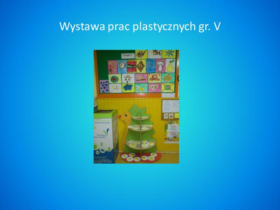 Wystawa prac plastycznych gr. V