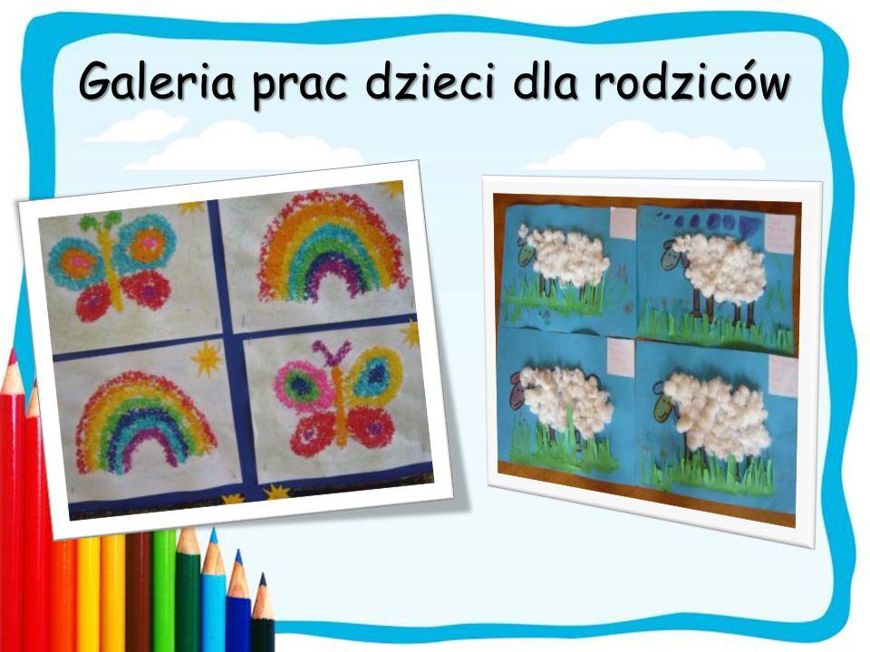 Galeria prac dzieci dla rodziców