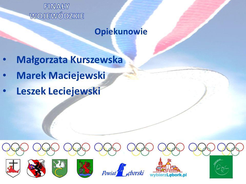 Małgorzata Kurszewska Marek Maciejewski Leszek Leciejewski