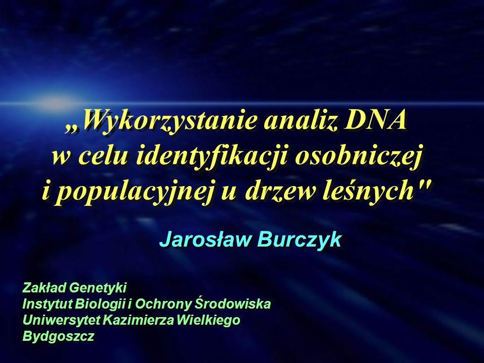 """""""Wykorzystanie analiz DNA w celu identyfikacji osobniczej"""