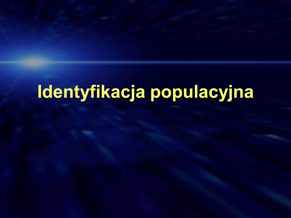 Identyfikacja populacyjna