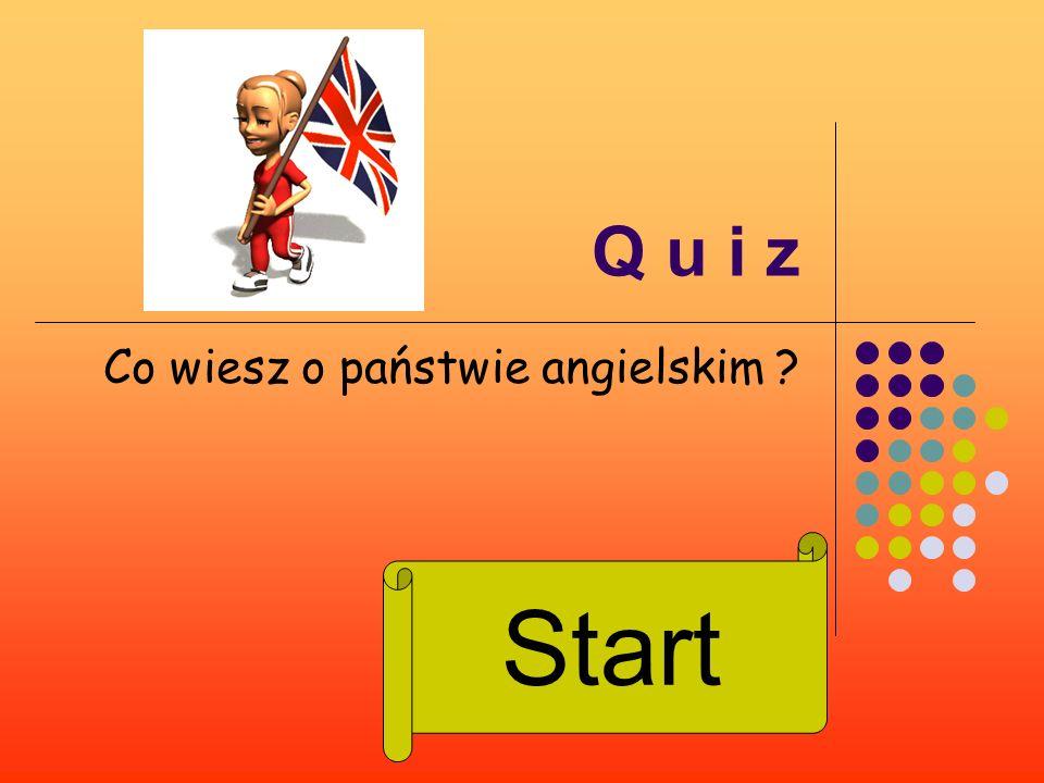 Co wiesz o państwie angielskim