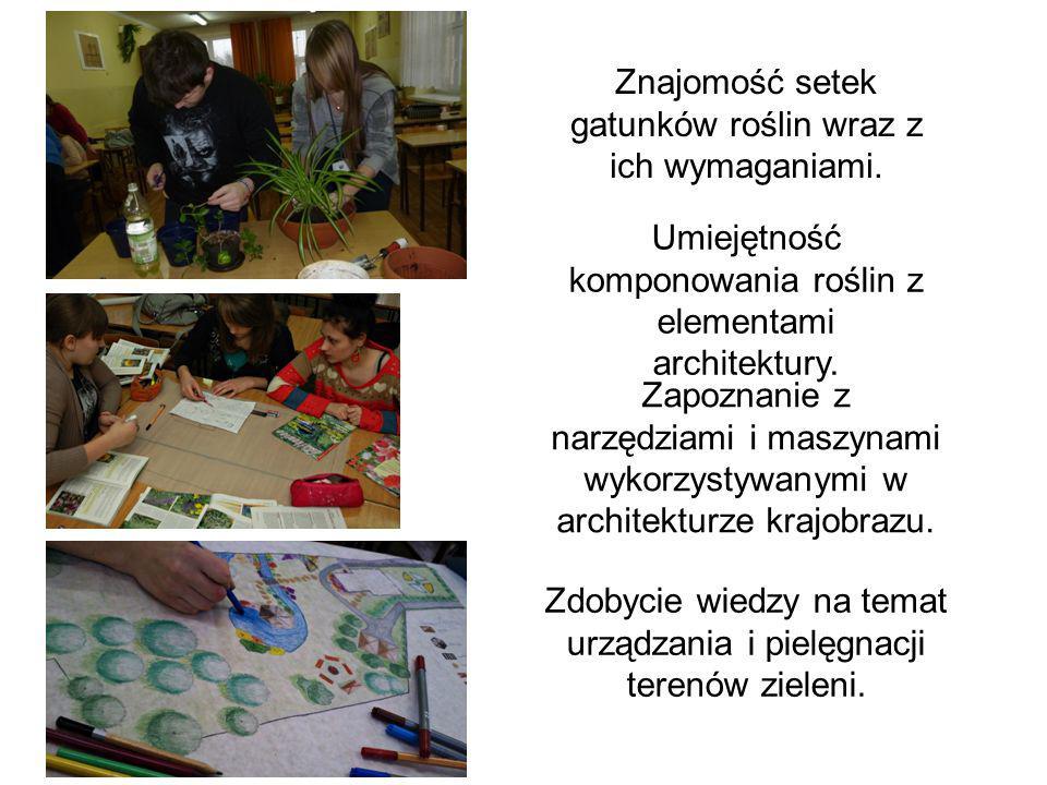 Znajomość setek gatunków roślin wraz z ich wymaganiami.