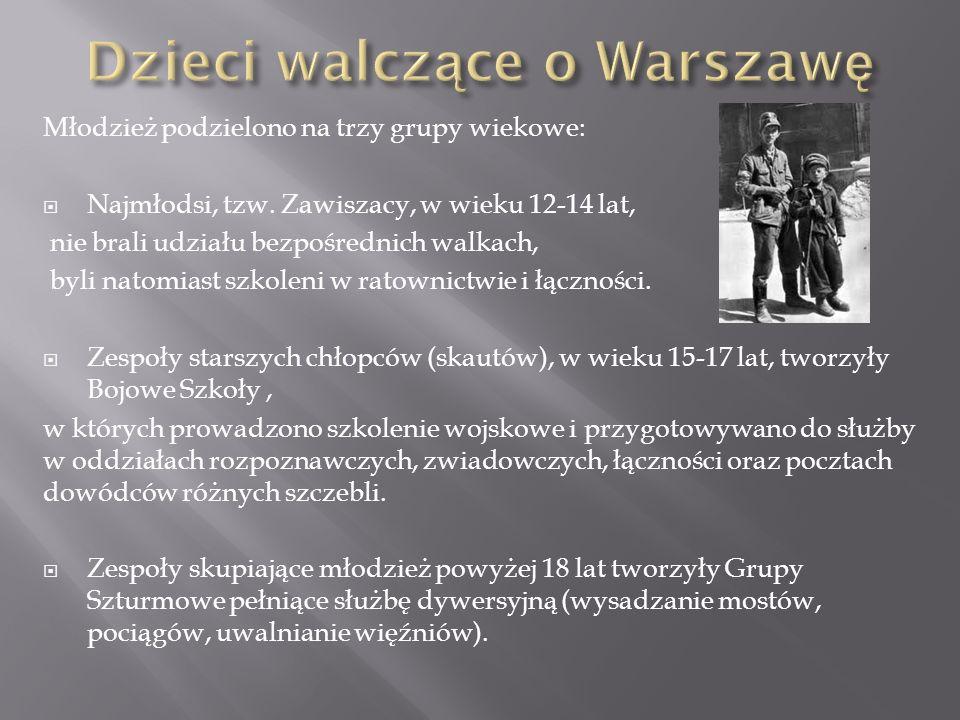 Dzieci walczące o Warszawę