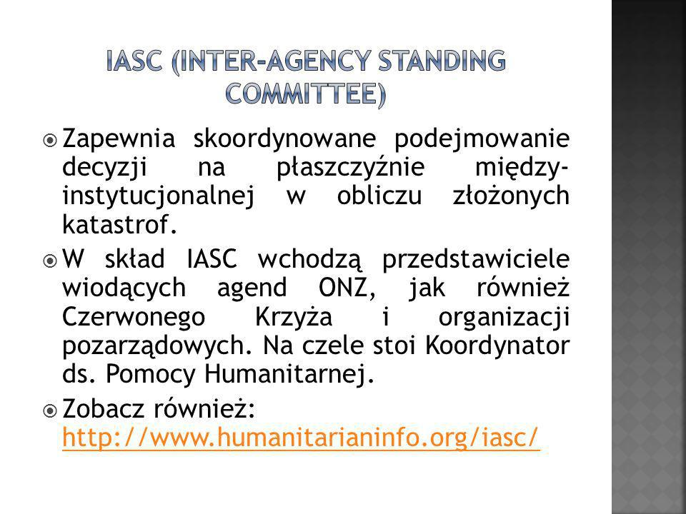 IASC (Inter-Agency Standing Committee)