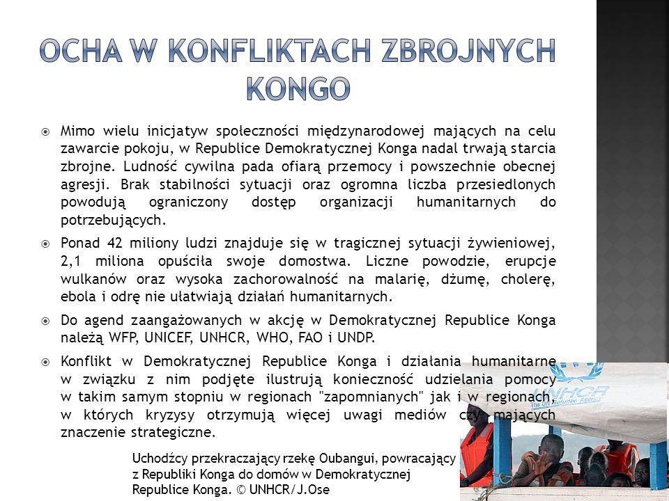 OCHA w konfliktach zbrojnych Kongo