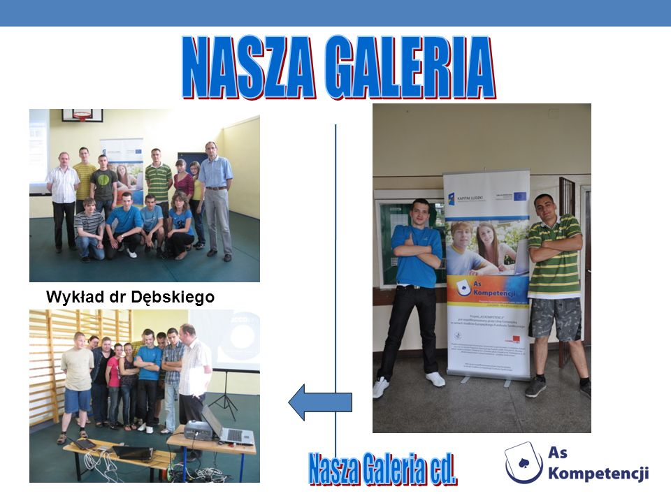 NASZA GALERIA Wykład dr Dębskiego Nasza Galeria cd.
