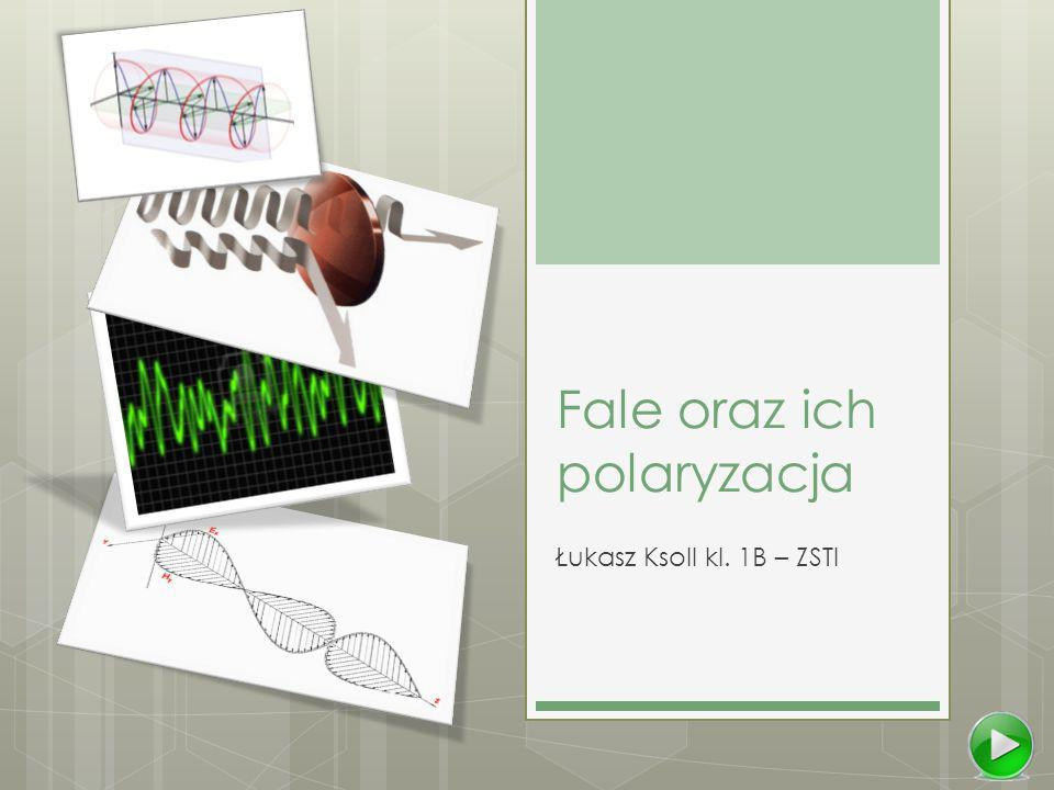 Fale oraz ich polaryzacja