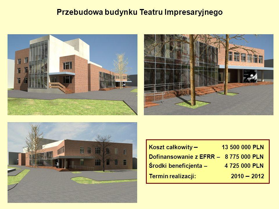 Przebudowa budynku Teatru Impresaryjnego