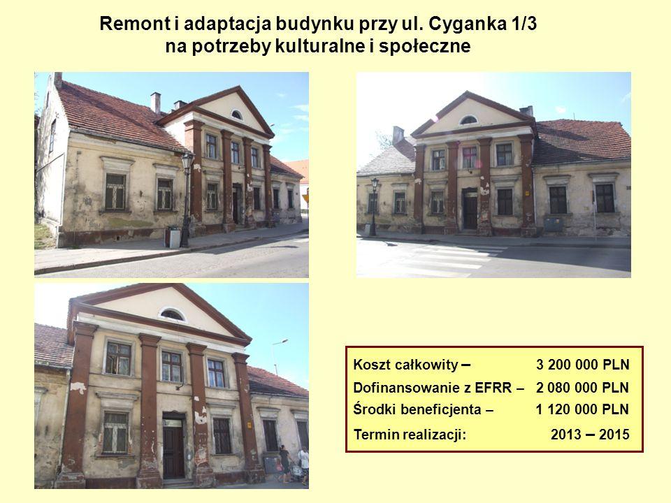 Remont i adaptacja budynku przy ul. Cyganka 1/3