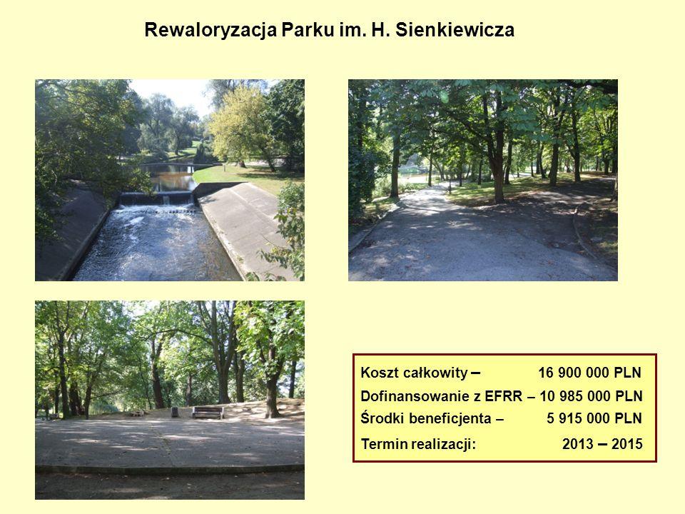 Rewaloryzacja Parku im. H. Sienkiewicza