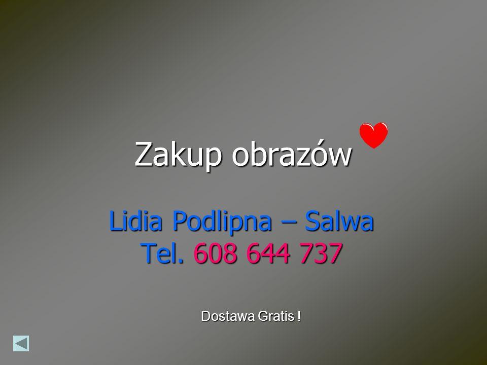 Lidia Podlipna – Salwa Tel. 608 644 737