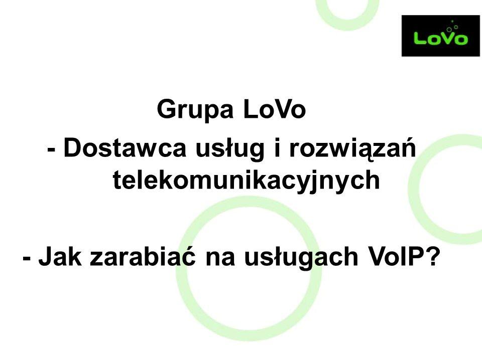 - Dostawca usług i rozwiązań telekomunikacyjnych
