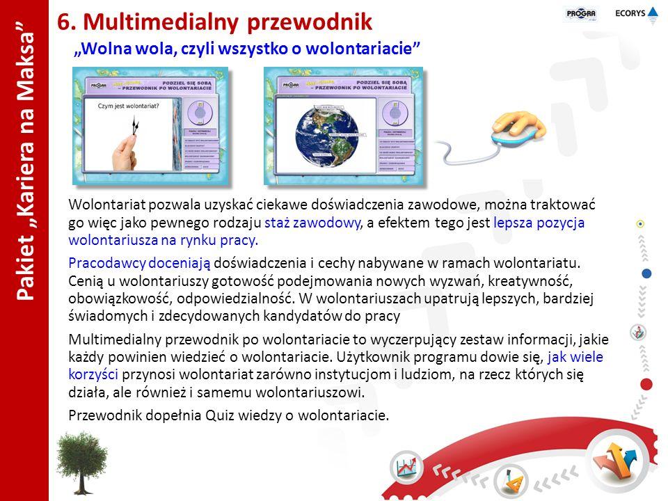 """Pakiet """"Kariera na Maksa 6. Multimedialny przewodnik"""
