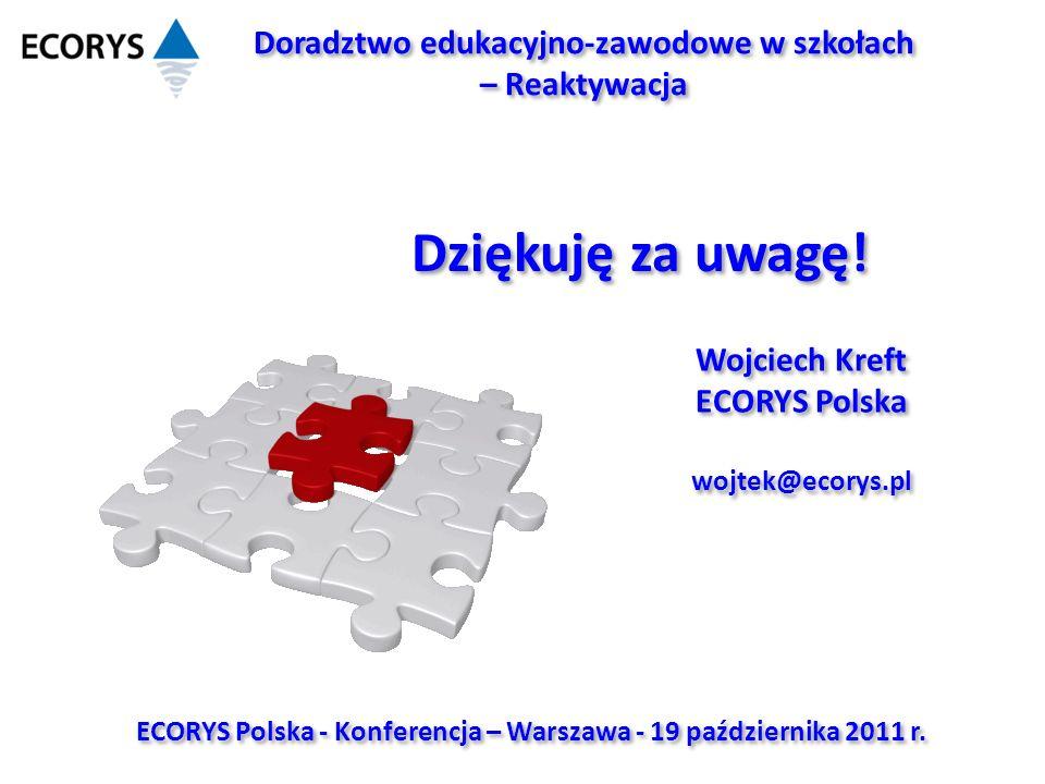 ECORYS Polska - Konferencja – Warszawa - 19 października 2011 r.