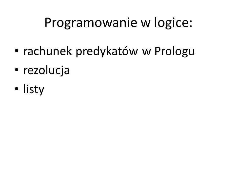 Programowanie w logice: