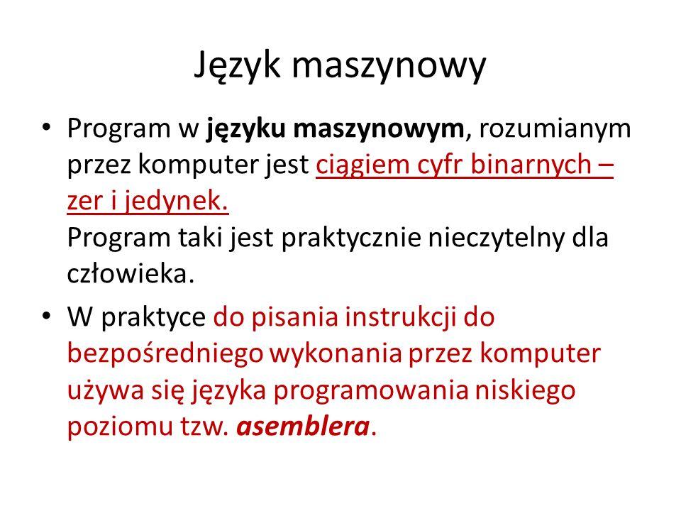 Język maszynowy