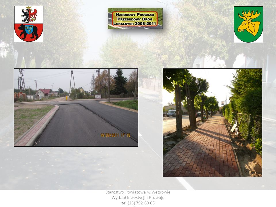 Starostwo Powiatowe w Węgrowie Wydział Inwestycji i Rozwoju tel