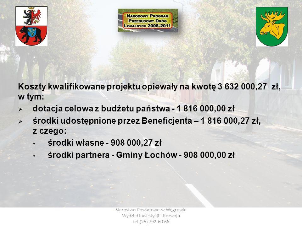 dotacja celowa z budżetu państwa - 1 816 000,00 zł
