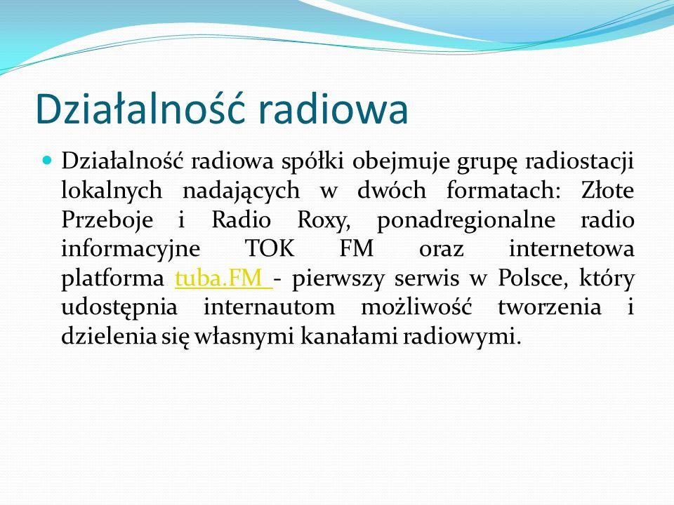 Działalność radiowa