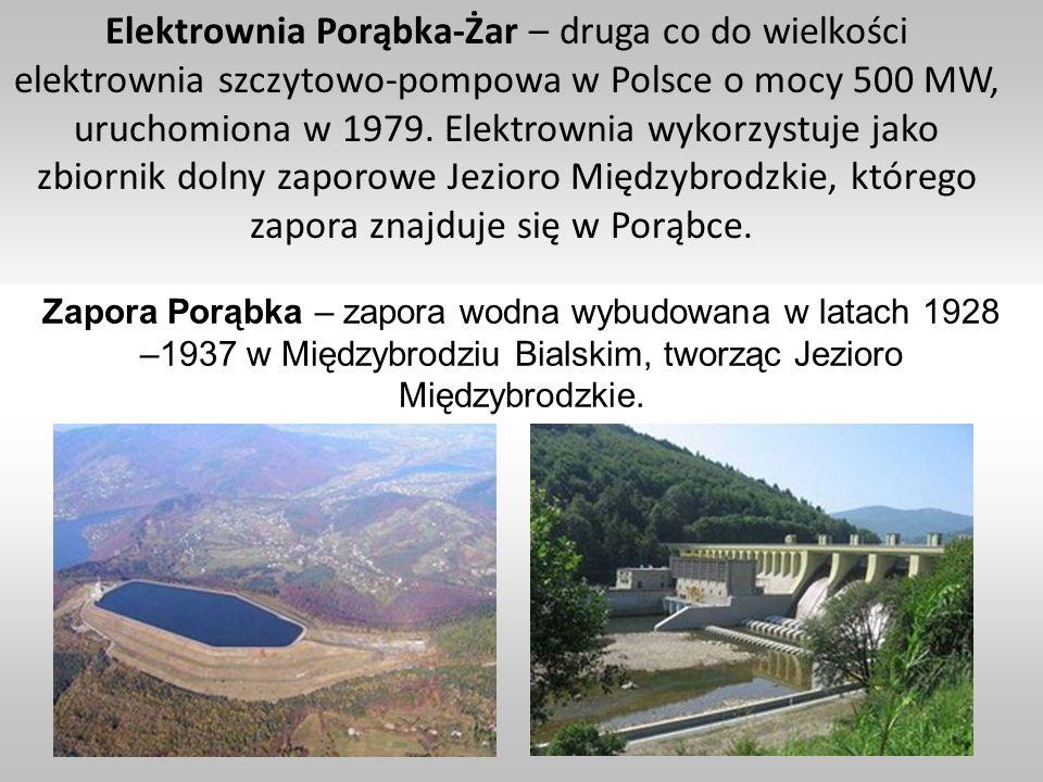 Elektrownia Porąbka-Żar – druga co do wielkości