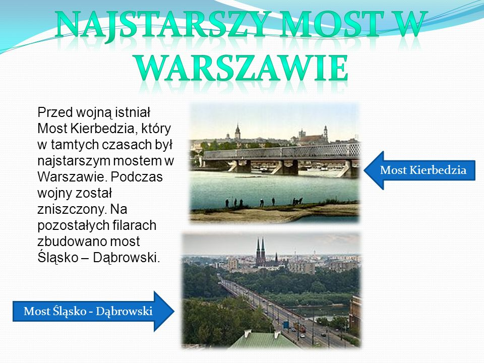 Most Śląsko - Dąbrowski