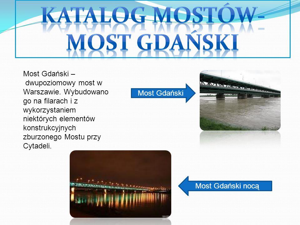 Katalog mostów-most gdański