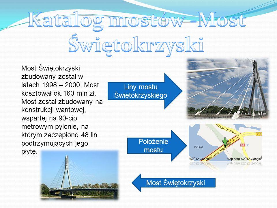 Katalog mostów -Most Świętokrzyski