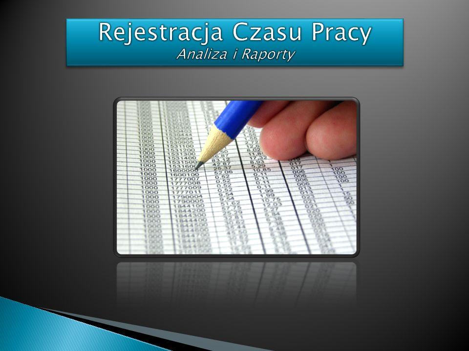 Rejestracja Czasu Pracy Analiza i Raporty