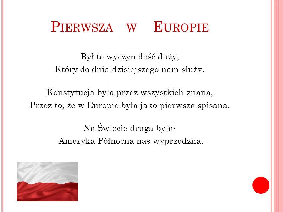 Pierwsza w Europie