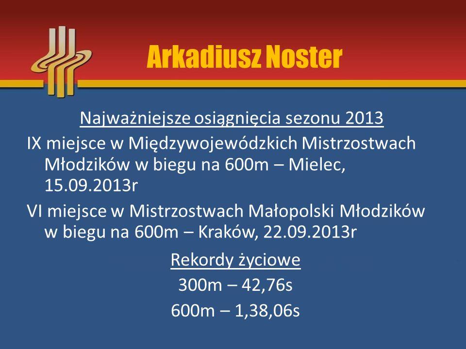 Arkadiusz Noster