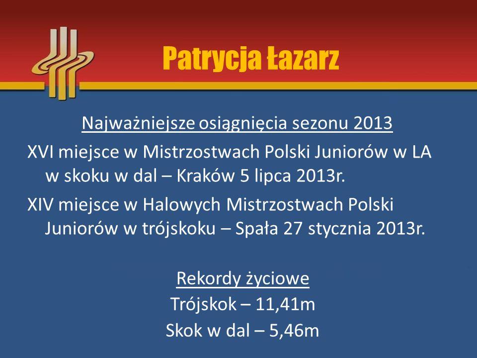 Patrycja Łazarz
